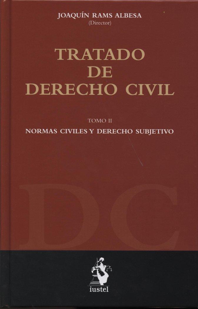 Tratado de derecho civil tomo 20. normas civiles y derecho s