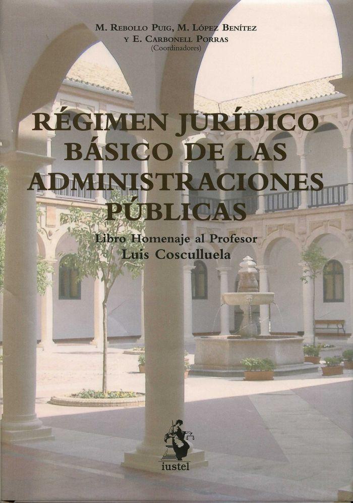 Regimen juridico basico de las administraciones publicas.