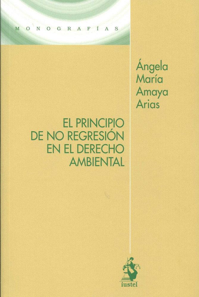 Principio de no regresion en el derecho ambiental,el