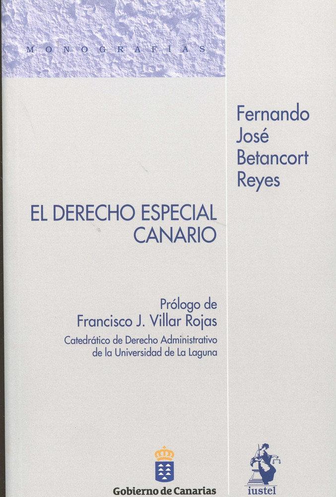 Derecho especial canario,el