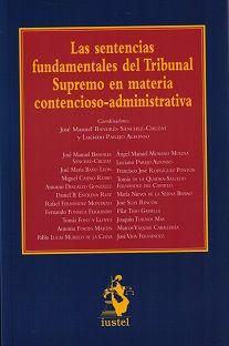 Sentencias fundamentales del tribunal supremo en materia con