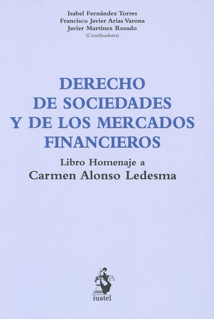 Derecho de sociedades y de los mercados financieros