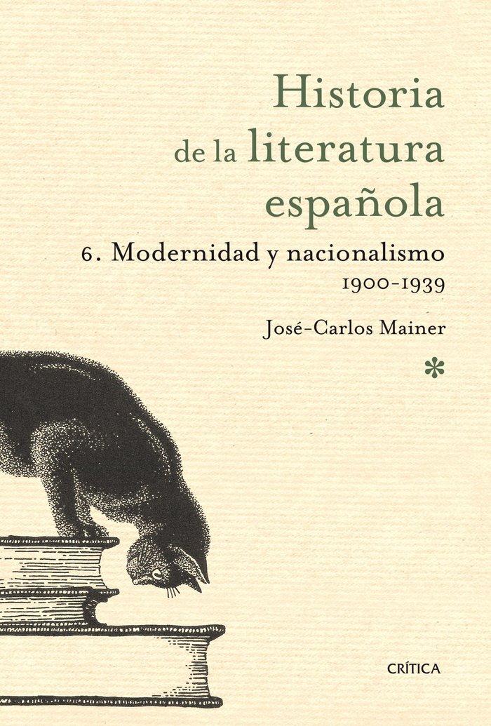 Historia de la literatura española s.xx