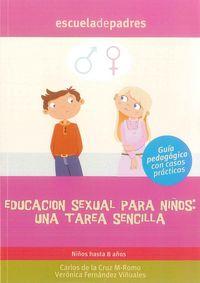 Educacion sexual para niños una tarea sencilla