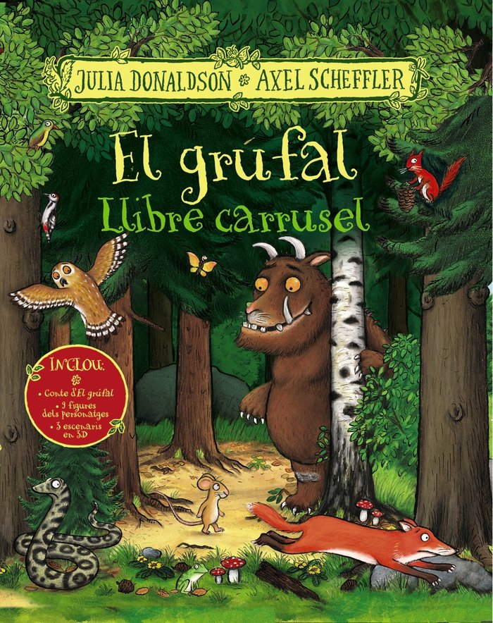 Grufal llibre carrusel,el catalan
