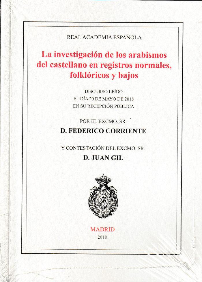 Investigacion de los arabismos del castellano en registros n