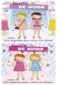 Desfile de moda 2t lila rosa