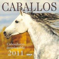 Calendario desplegable de caballos