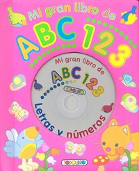 Mi gran libro de abc 123