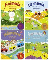 Llibre de jocs i activitats (4 titols)