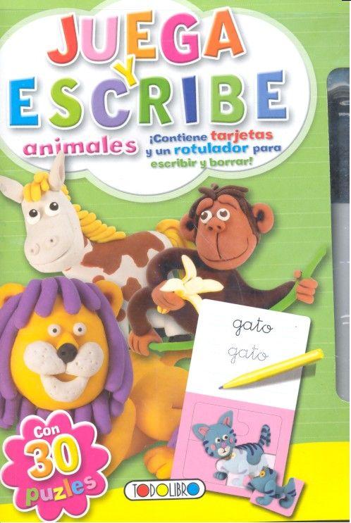 Juega y escribe animales