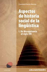 Aspectos de historia social de la linguistica