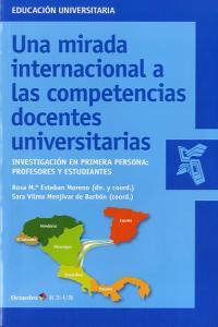 Mirada internacional a las competencias docentes universitar