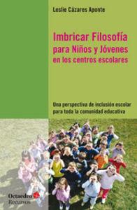 Imbricar filosofia para niños y jovenes en los centros esco