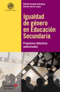Igualdad de genero en educacion secundaria