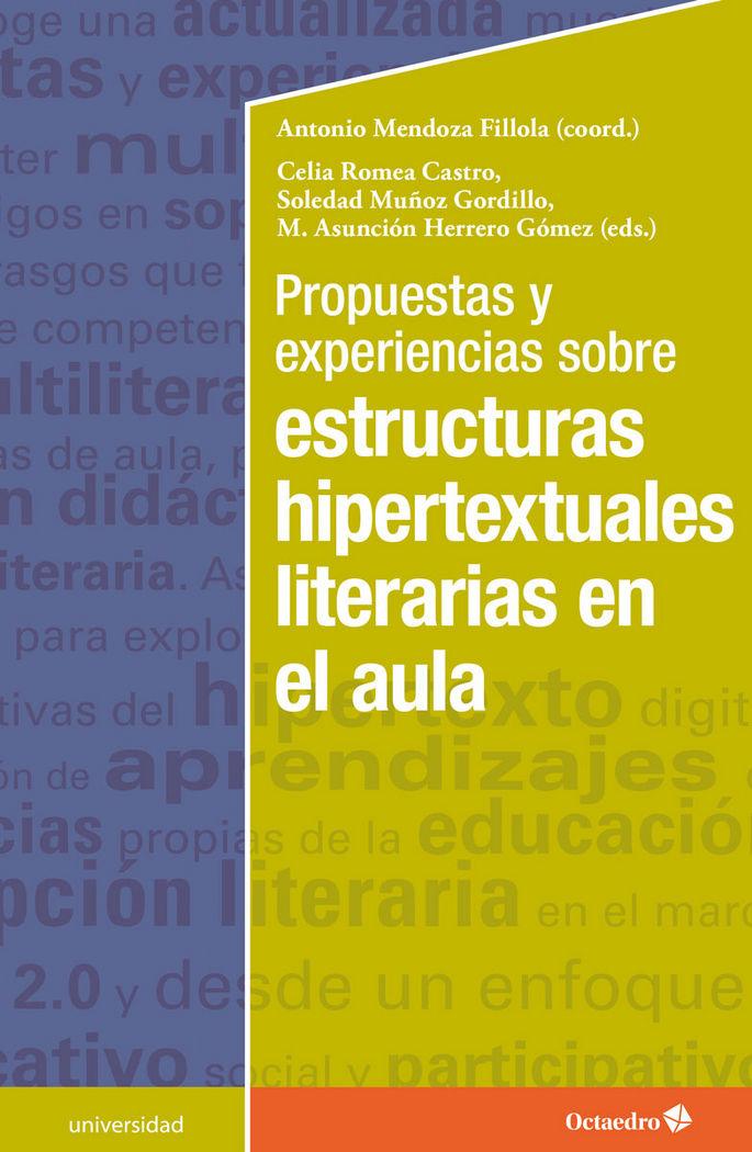 Propuestas y experiencias sobre estructuras hipertextuales l