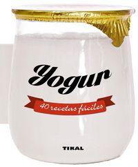 Yogur 40 recetas faciles