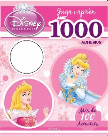 Princeses. juga i apren amb 1000 adhesius