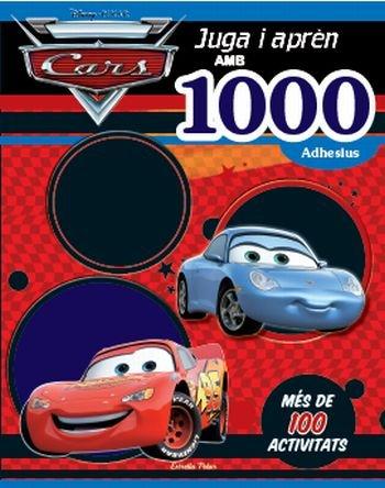 Cars. juga i apren amb 1000 adhesius