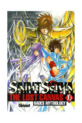 Saint seiya the lost canvas 10