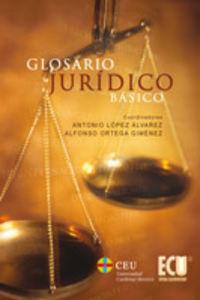 Glosario juridico basico