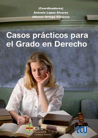 Casos practicos para el grado en derecho