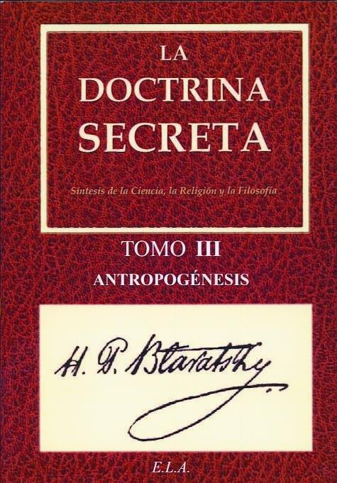 Doctrina secreta tomo iii - antropogenesis