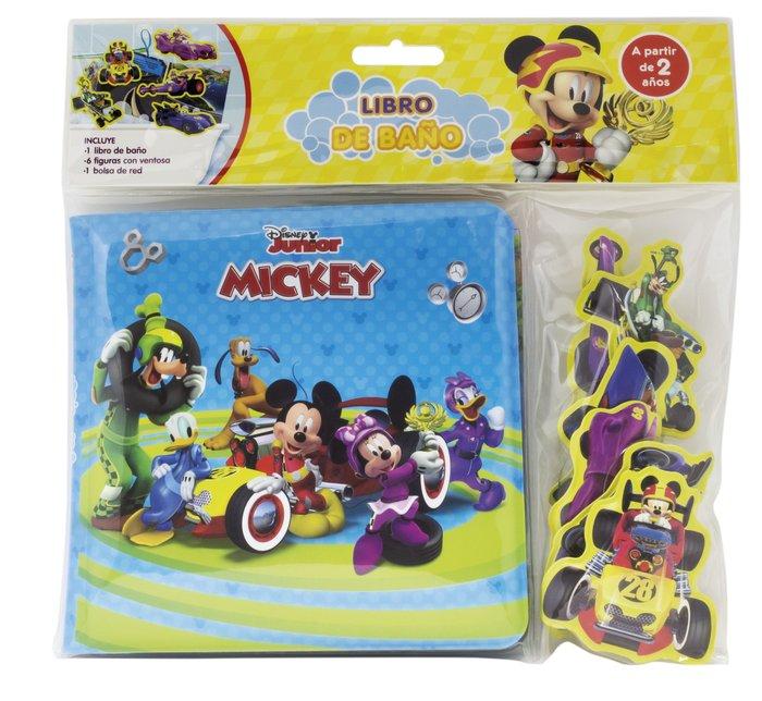 Mickey libro baño