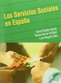 Servicios sociales en espaÑa,los