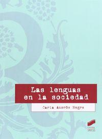 Lenguas en la sociedad,las