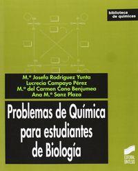Problemas de quimica para estudiantes de biologia  bibliotec