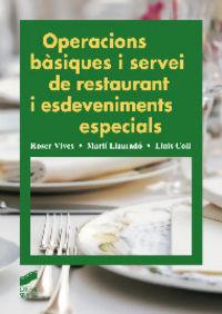 Operacions besiques i servei de restaurant i esdeveniments e