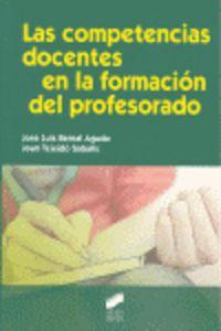 Competencias docentes en la formacion del profesorado, las