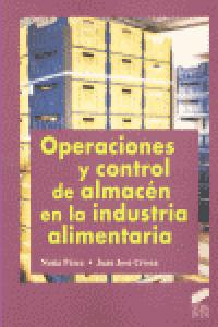Operaciones y control almacen industria alimentaria