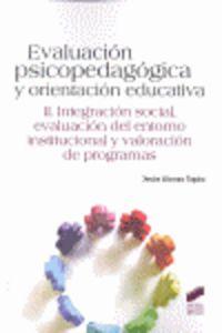 Evaluacion psicopedagogica y orientacion educativa
