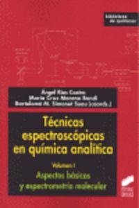 Tecnicas espectroscopicas en quimica analitica  biblioteca d