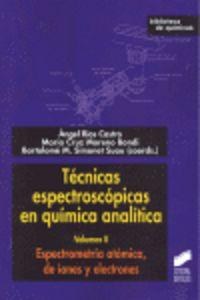 Tecnicas espectroscopicas en quimica analitica ii