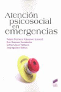 Atencion psicosocial en emergencias  psicologia