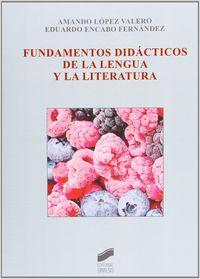 Fundamentos didacticos de la lengua y la literatura