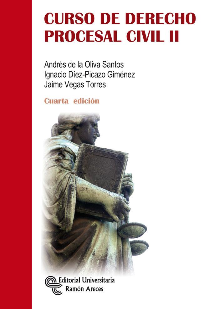 Curso de derecho procesal civil ii  4ªedicion