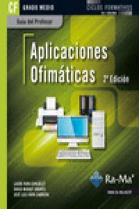 Aplicaciones ofimaticas 2ªed cfgm guia del profesor