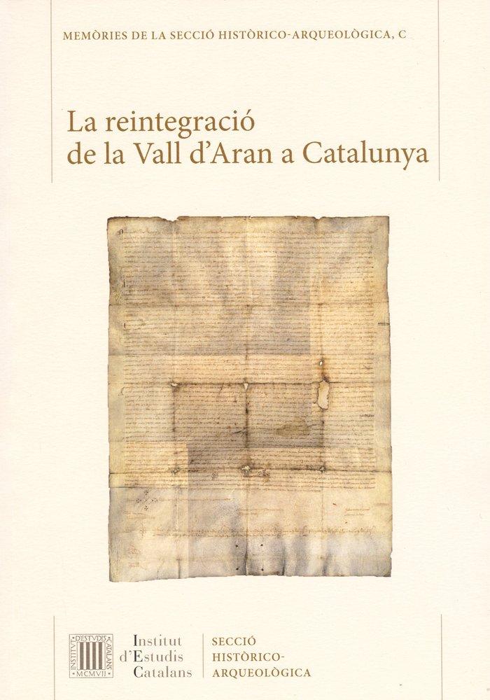 Reintegracio de la vall d'aran a catalunya,la