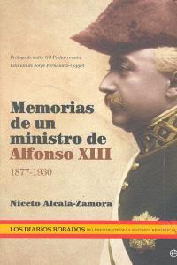 Memorias ministro alfonso xiii 1877-1930