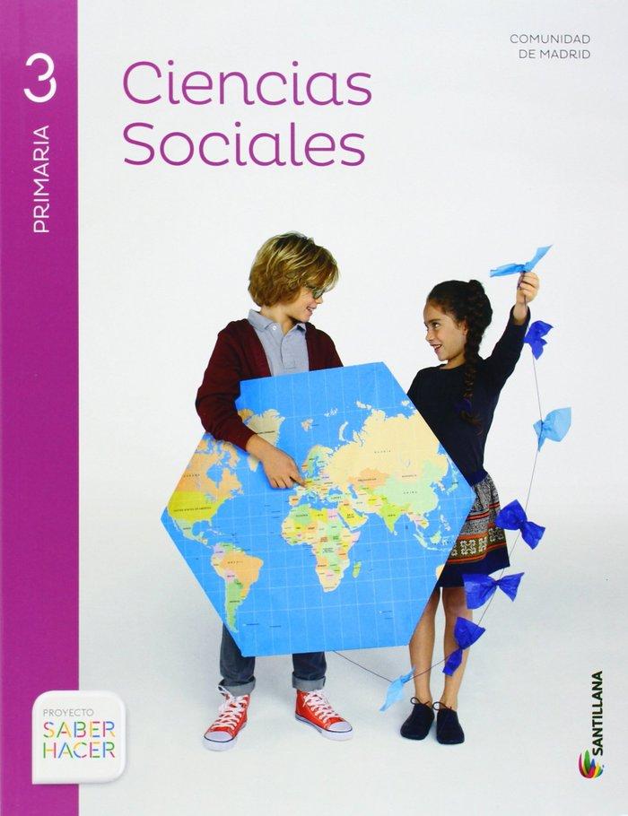 Ciencias sociales 3ºep madrid+atlas 14 saber hac.
