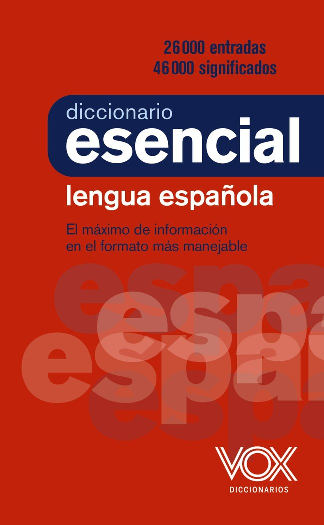 Diccionario esencial de la lengua española 21