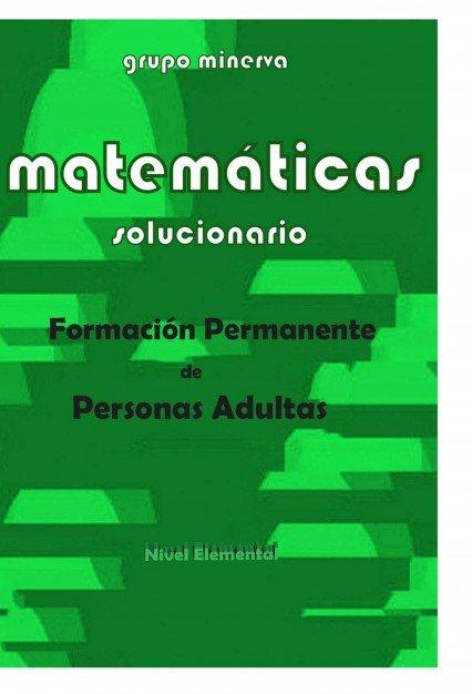 Matematicas formacion permanente de personas adultas soluci