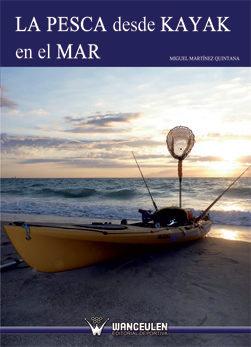 Pesca desde kayak en el mar,la