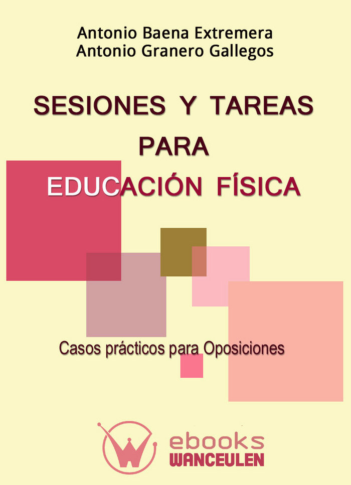 Sesiones y tareas para educacion fisica.