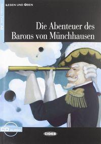 Die abenteuer des barons von munchhausen. a2 (buch+cd)