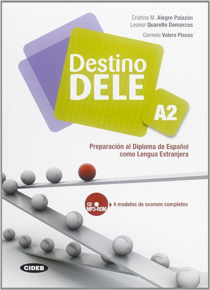 Destino dele, nivel a2, libro del alumno (+ cd-rom)